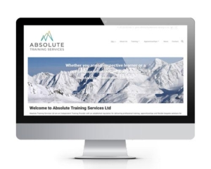 Absolute Training Website - powered by Hummingbird CMS